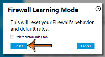 Vipre Firewall Learning Mode