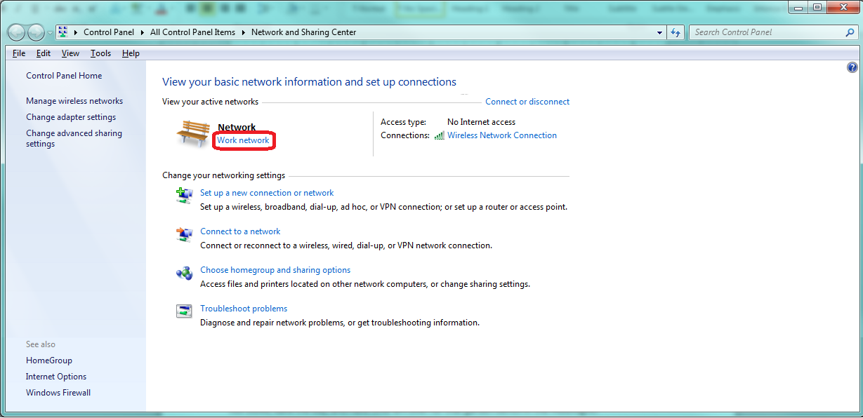 Change a Network Location in Registry Editor Step 7