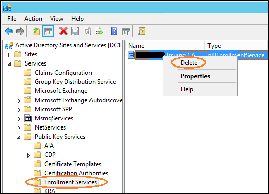 How to Manually Remove Certified Authority