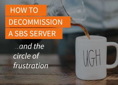 How to Manually Demote, Remove, and Decommission a SBS Server